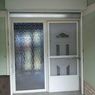 4.1 - bejárat sávredőny védelemmel nyitva